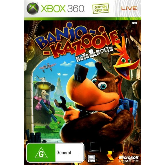 Banjo Kazooie - Viti e Bulloni - Xbox 360