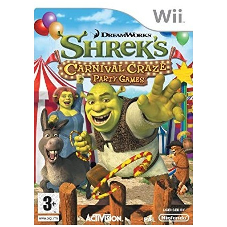 Shrek Carnival Craze Party Game - Wii usato