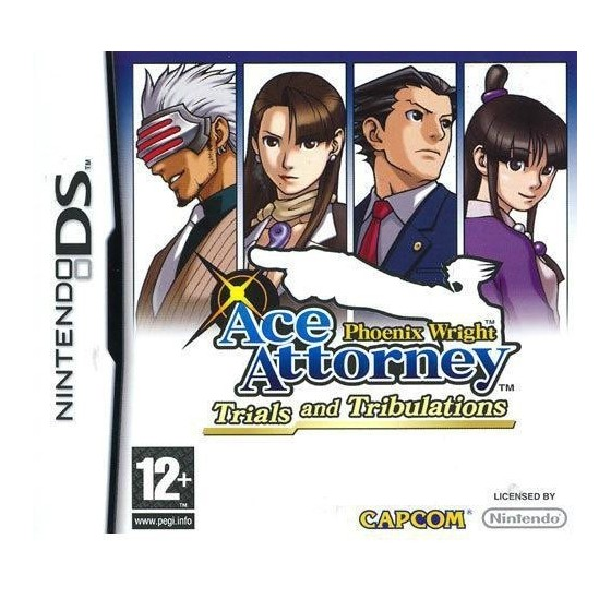 Ace Attorney Trials and Tribulations - DS