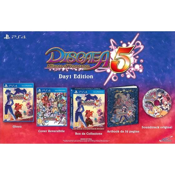 Disgaea 5 Alliance of Vengeance - PS4 usato