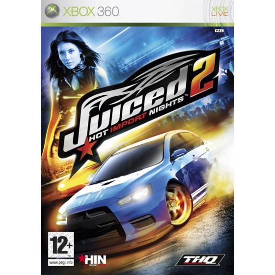 Juiced 2: Hot Import Nights - Xbox 360 usato