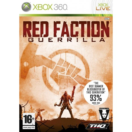 Red Faction Guerrilla - Xbox 360 usato
