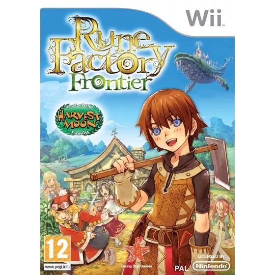 Rune Factory Frontier - Wii usato