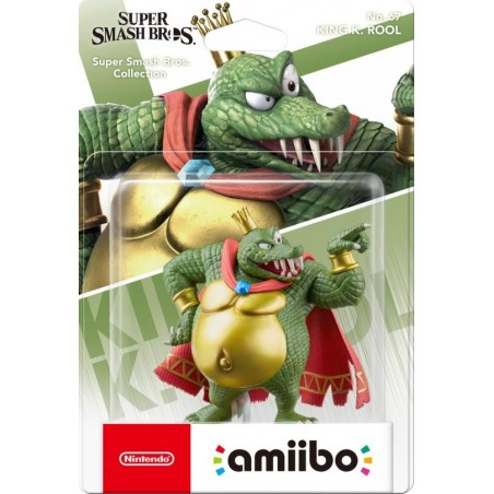Nintendo Amiibo - King K. Rool - Super Smash Bros Ultimate