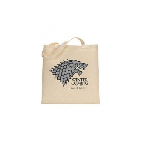 Borsa in cotone - The Winter is coming - Game of Thrones