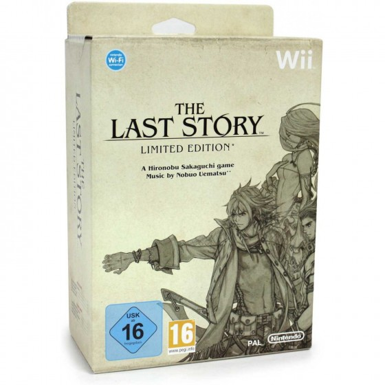 The Last Story - Limited Edition - Wii usato
