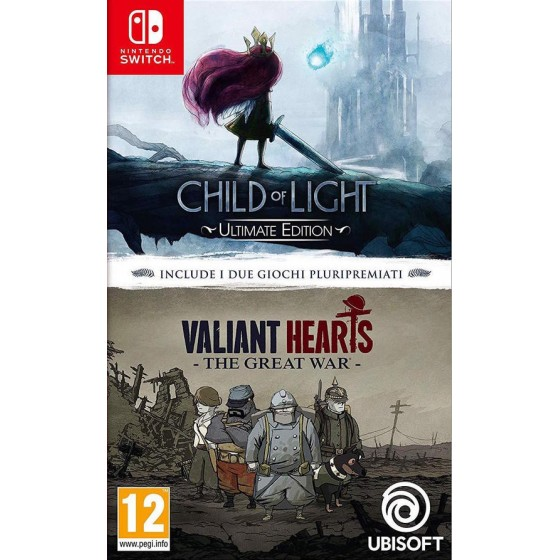 Child of Light + Valiant Hearts Collection - Switch