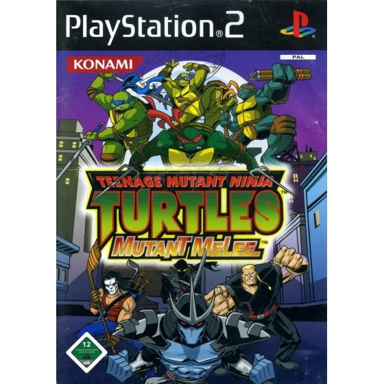 Teenage Mutant Ninja Turtles Mutant Melee - PS2