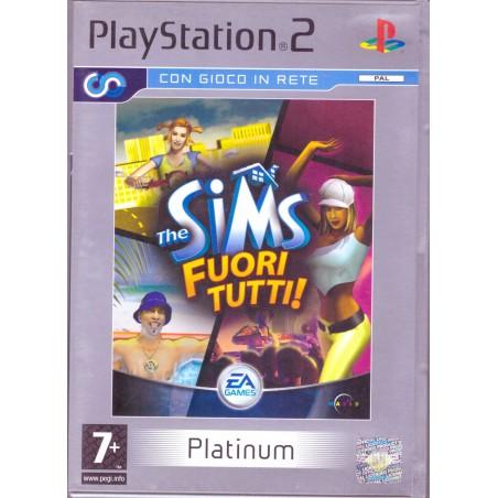 The Sims - Fuori Tutti! - Platinum - PS2