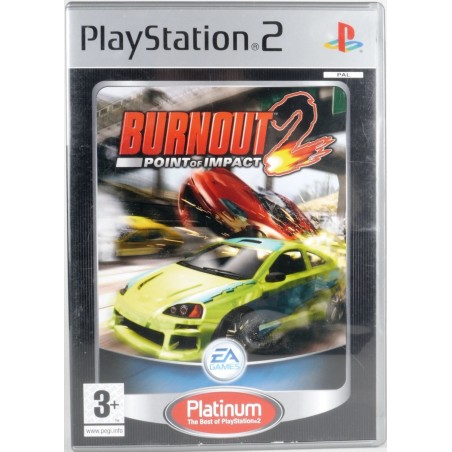 Burnout 2 Point of Impact - Platinum - PS2