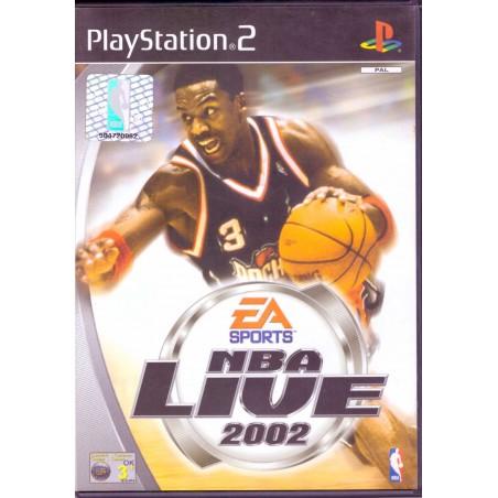 NBA Live 2002 - PS2