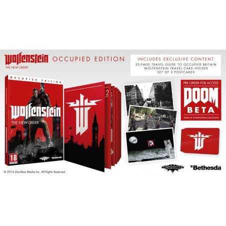 Wolfenstein: The New Order - Occupied Edition - PS3
