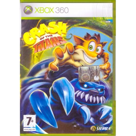 Crash of the Titans - Xbox 360 usato