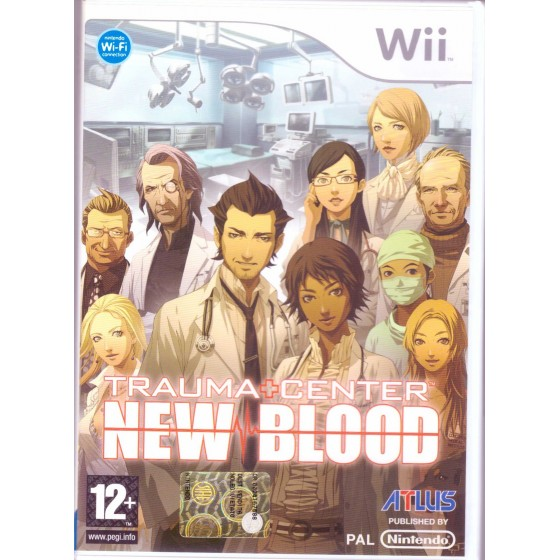Trauma Center New Blood - Wii usato