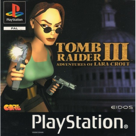 Tomb Raider III - PS1