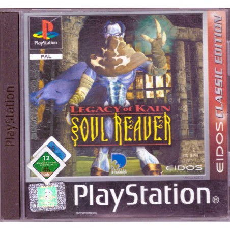 Legacy of Kain: Soul Reaver - Eidos Classic Edition - PS1
