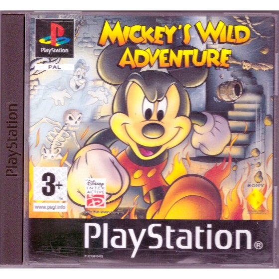 Mickey's Wild Adventure - PS1