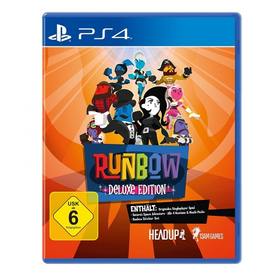 Runbow - Deluxe Edition - PS4