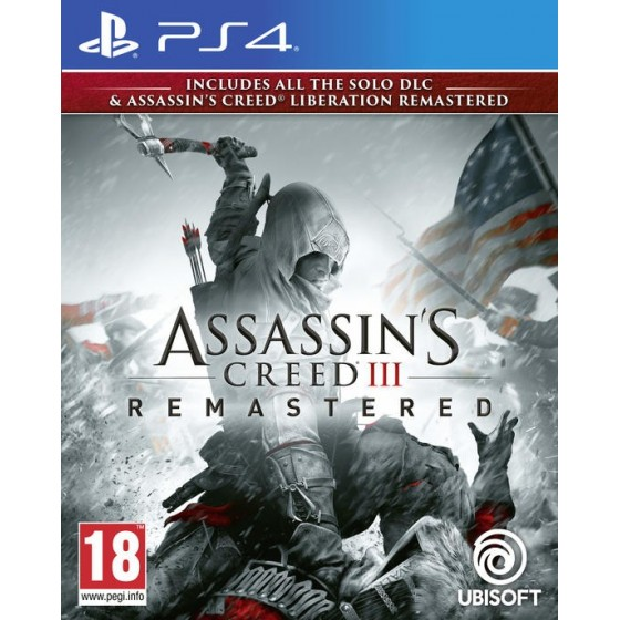 Assassin's Creed III Remastered - Preorder PS4