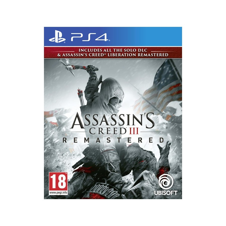 Assassin's Creed III Remastered - PS4