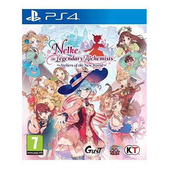 Atelier Nelke & the Legendary Alchemist - PS4