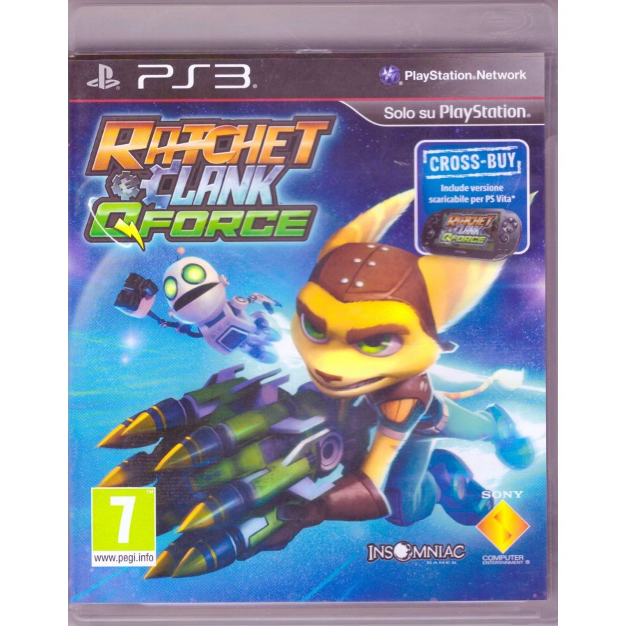 Ratchet & Clank - QForce - PS3