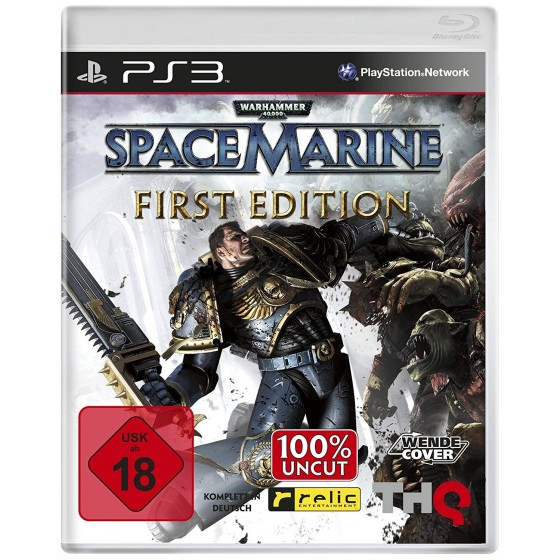 Warhammer 40.000: Space Marine - First Edition - PS3