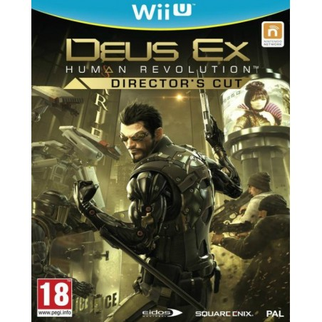 Deus Ex: Human Revolution - Director's Cut - WiiU