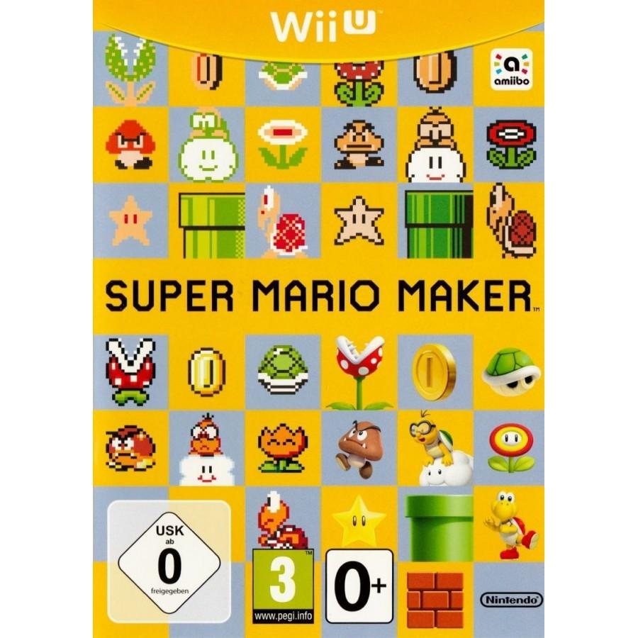 Super Mario Maker - WiiU