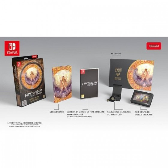 Fire Emblem: Three Houses - Limited Edition - Switch