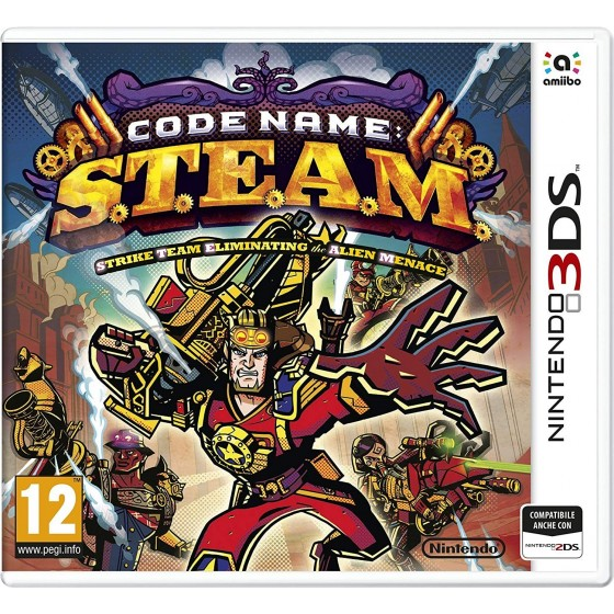 Code Name S.T.E.A.M. - 3DS usato