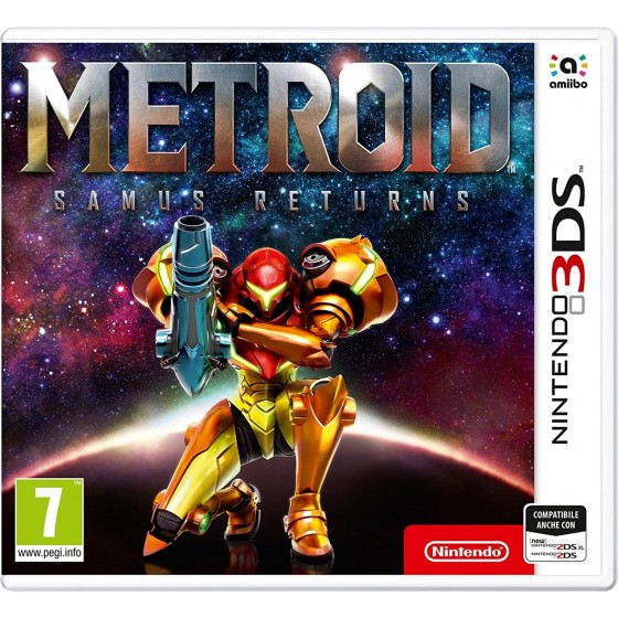 Metroid Samus Returns - 3DS