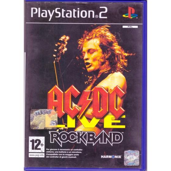 AC/DC Live Rockband - PS2