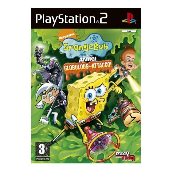 SpongeBob e i Suoi Amici: Globulous all'Attacco! - PS2 usato