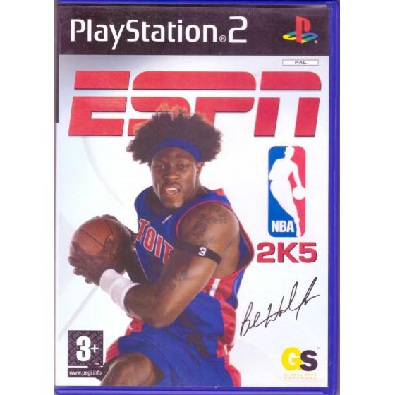 ESPN NBA 2K5 - PS2 usato