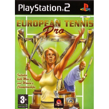 European Tennis Pro - PS2