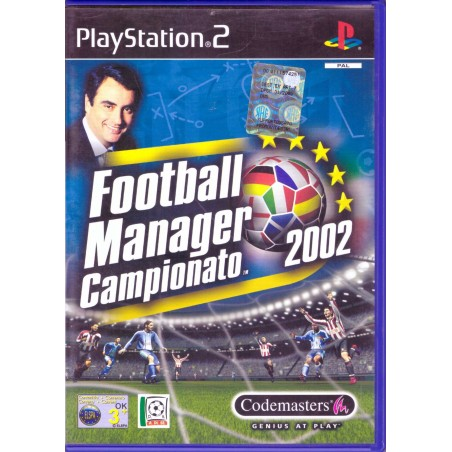 Football Manager 2002 - PS2