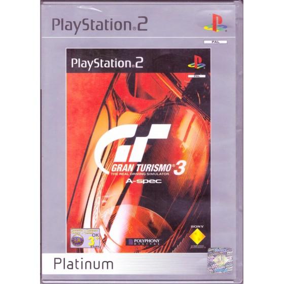 Gran Turismo 3 A-Spec - Platinum - PS2