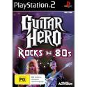 Guitar Hero Rocks the 80s - PS2