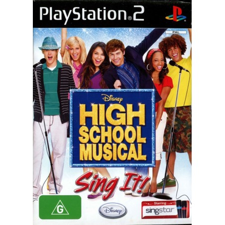 High School Musical Sing It - PS2