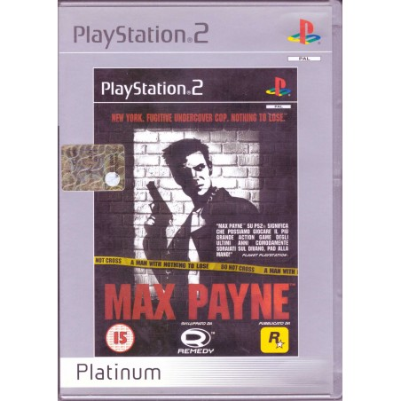 Max Payne - Platinum - PS2