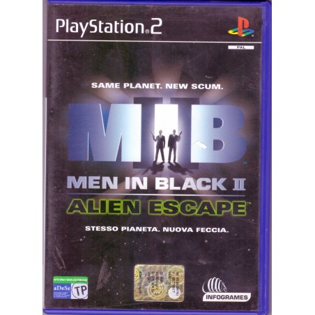 Men In Black II Alien Escape - PS2