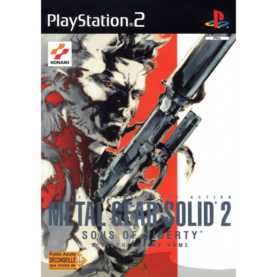 Metal Gear Solid 2 Sons of Liberty - PS2
