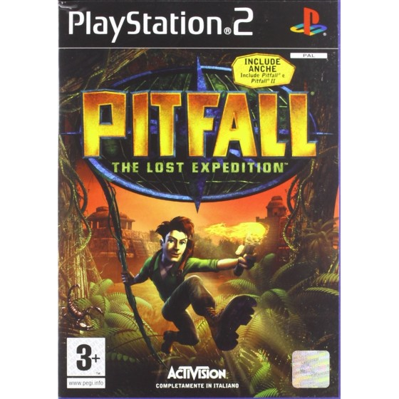 Pitfall The Lost Expedition - PS2