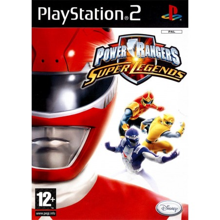 Power Rangers Super Legends - PS2