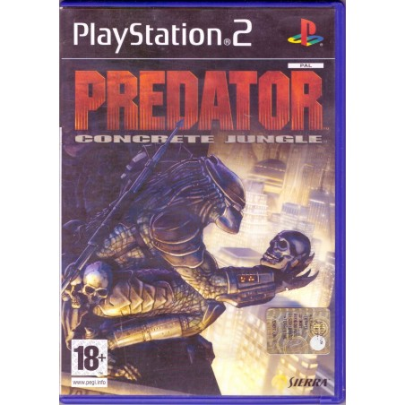 Predator Concrete Jungle - PS2
