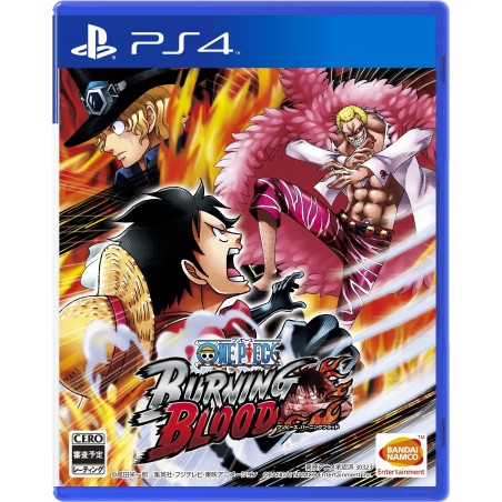 One Piece Burning Blood - PS4 usato