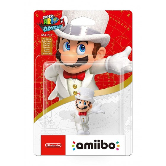 Nintendo Amiibo - Mario Sposo - Super Mario Odyssey