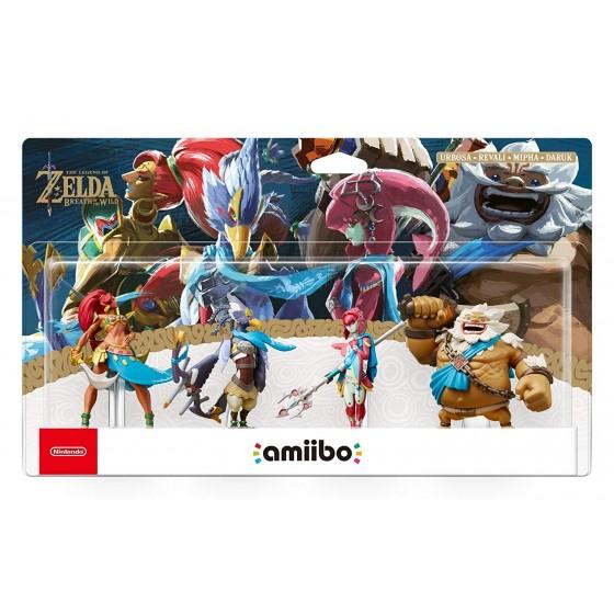 Nintendo Amiibo - Pack 4 Campioni - The Legend of Zelda: Breath of the Wild