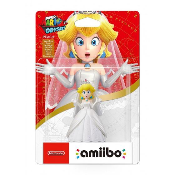 Nintendo Amiibo - Peach Sposa - Super Mario Odyssey
